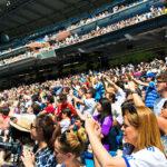 Estadio Santiago Bernabéu, sede del Real Madrid